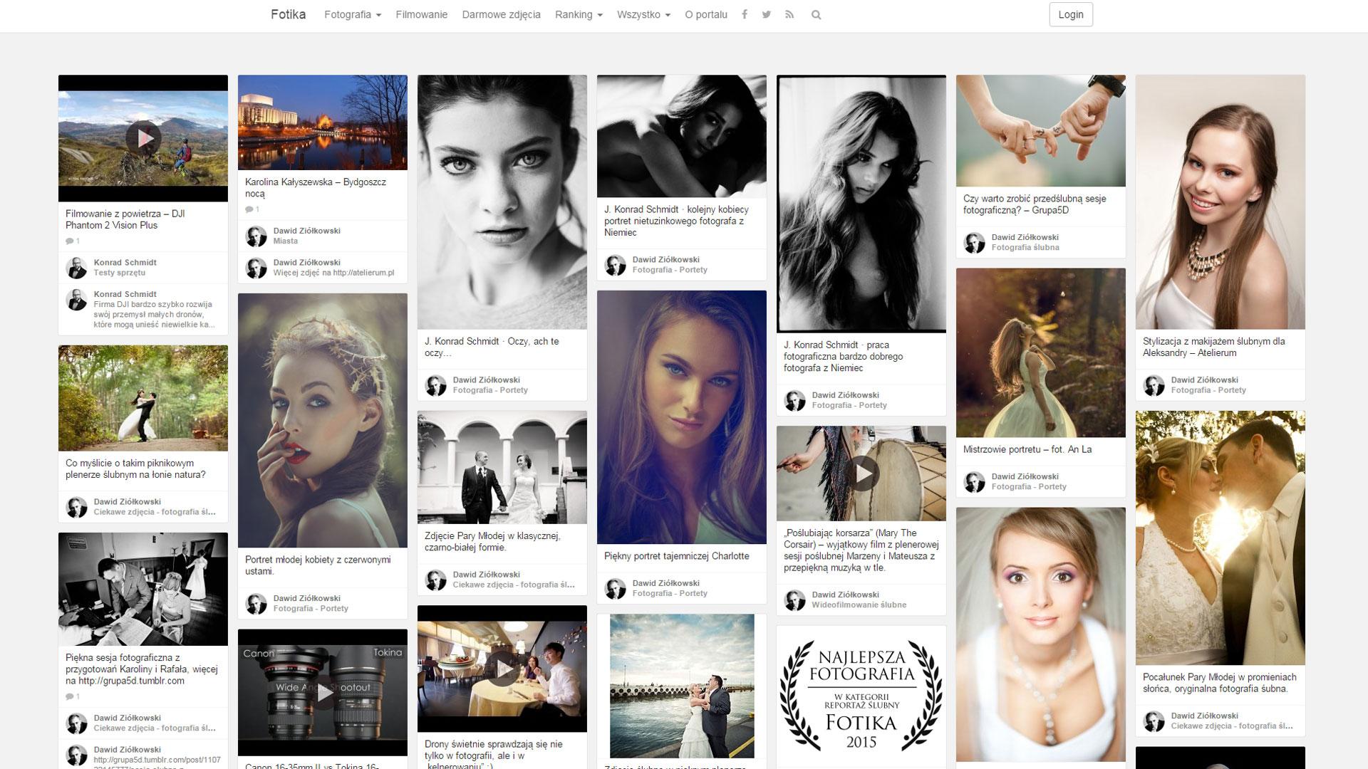 Fotika - fotograficzne inpspiracje - portal dla miłośników fotografiii