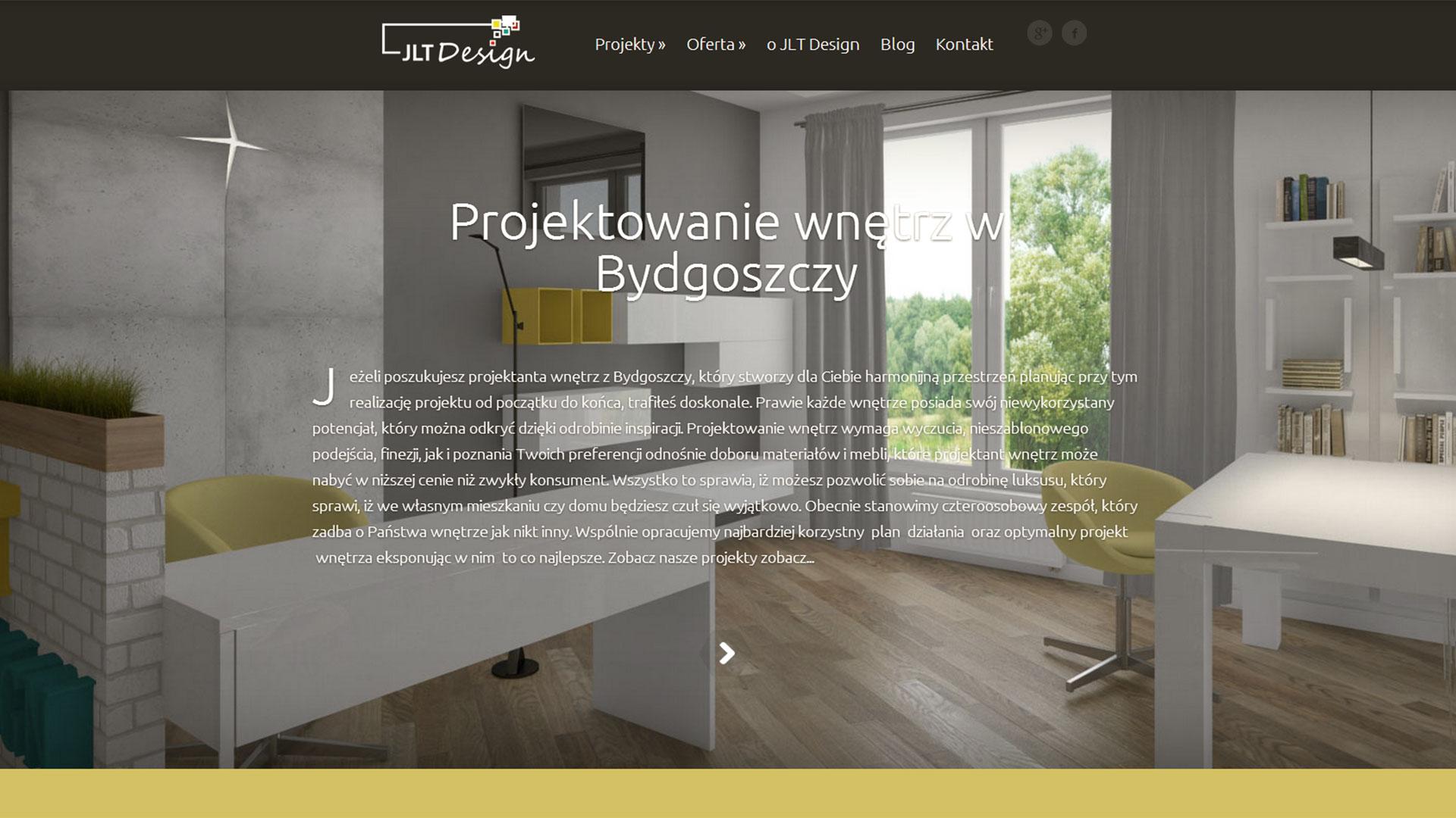 JLT Design - projektowanie i aranżacja wnętrz w Bydgoszczy