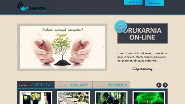 Fabryka Oryginałów - WWW, Druk, Reklama, Eventy